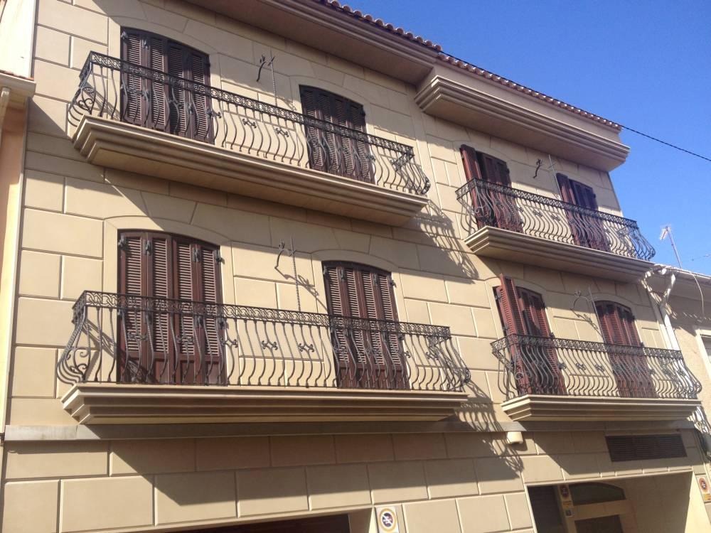Fachadas de piedra natural y crema marfil pulycort - Precio de piedra para fachada ...