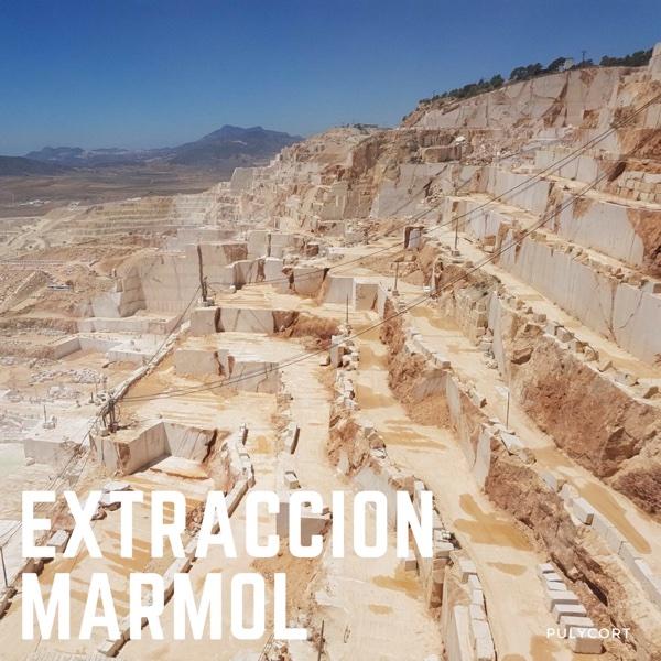 Extracción del mármol