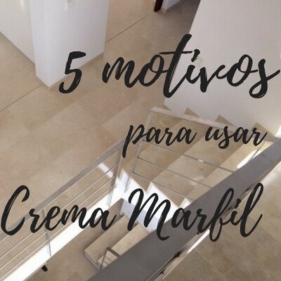 5 motivos para usar Mármol Crema Marfil en casa