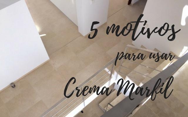 Motivos para usar mármol crema marfil