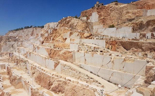 crema marfil quarry