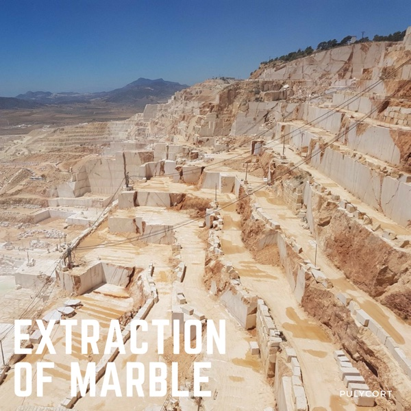 Marble processing: marble extraction