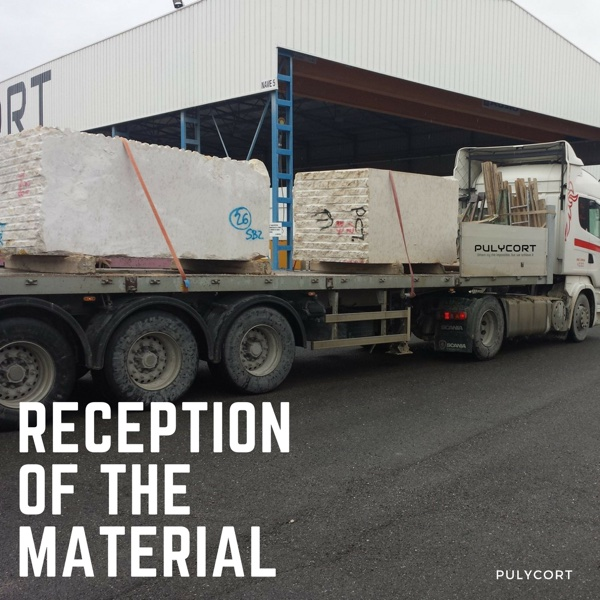 marble processing: marble reception