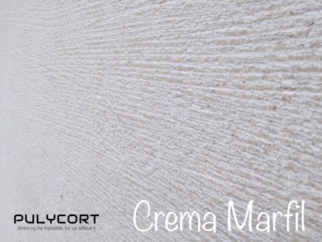 crema marfil chiselling