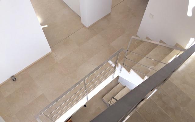 crema marfil flooring in a home