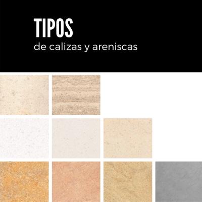 11 Tipos de piedra Caliza y Arenisca