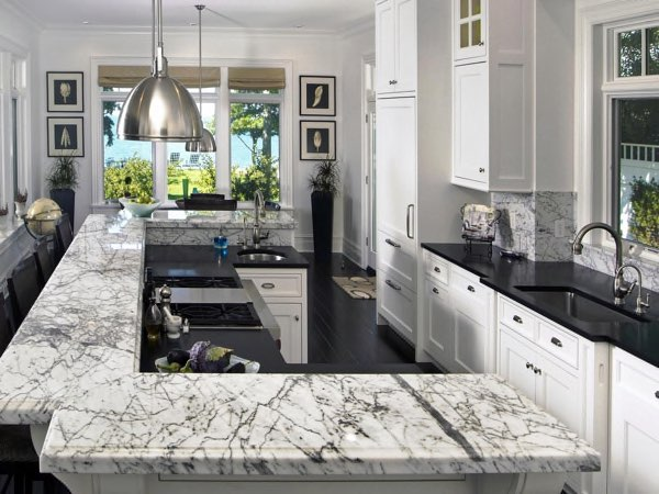 marble countertops for kitchens