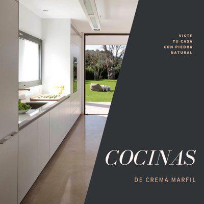 Cocinas de Crema Marfil