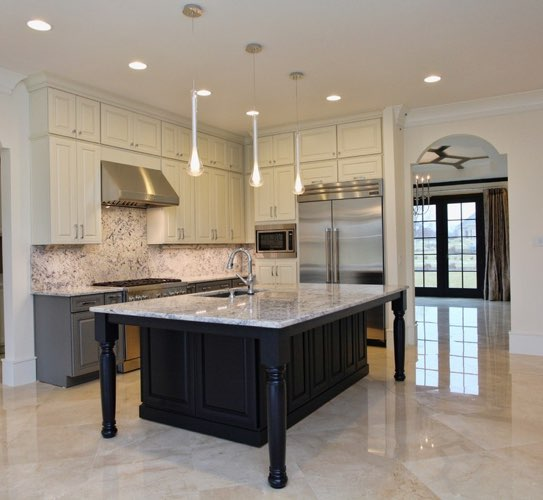 Crema Marfil marble flooring