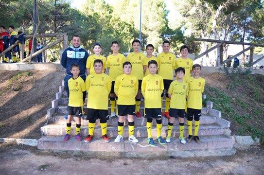 equipo de fútbol alevín de la romana