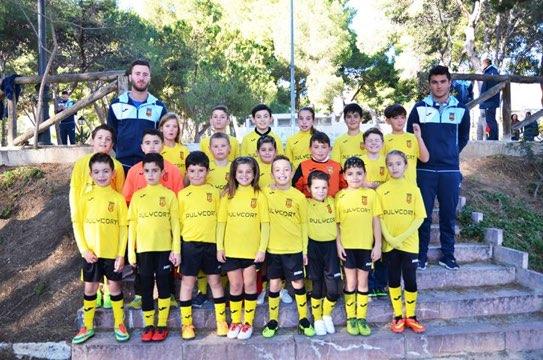 equipo de fútbol benjamín de la romana