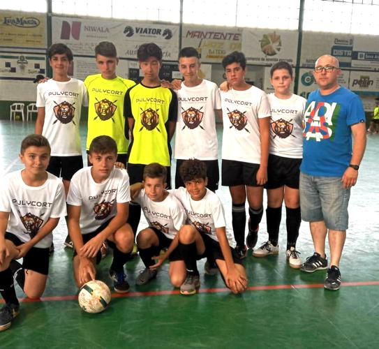 equipo de fútbol sala leones pulycort
