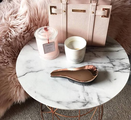 side table to decorate with marble