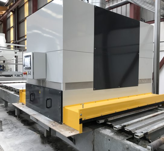 oven for marble polishing line