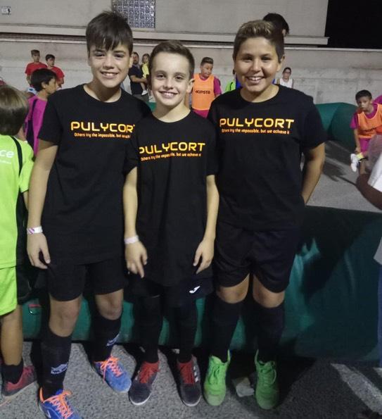 jugadores equipo fútbol sala pulycort
