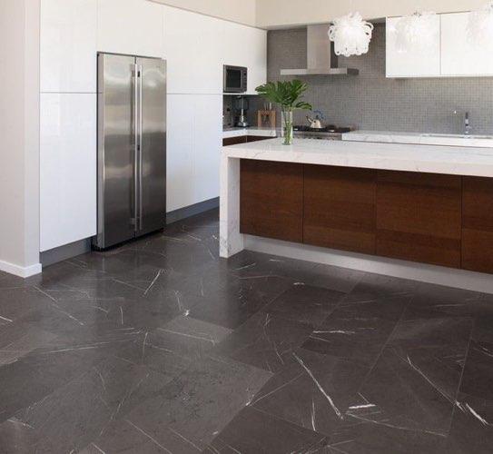 suelo cocina mármol gris pietra grey