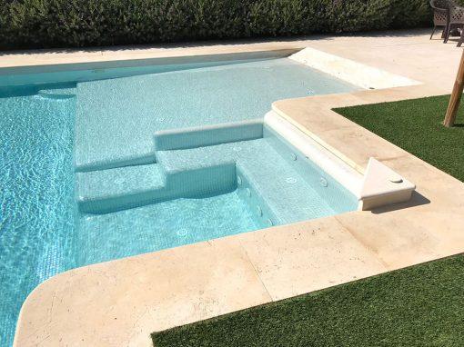 Pavimento de piedra natural para piscinas