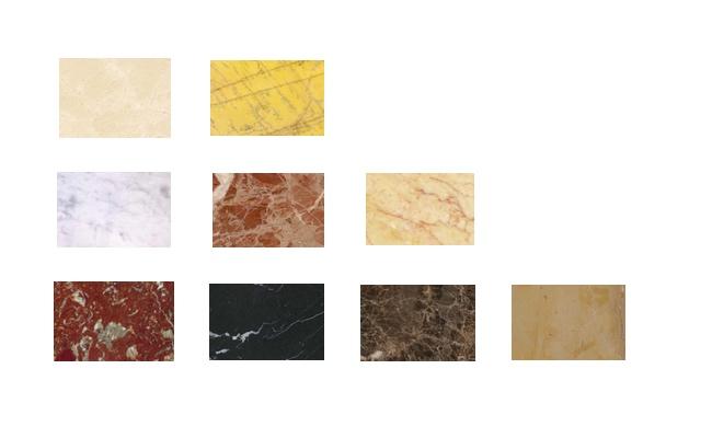 Tipos de mármol