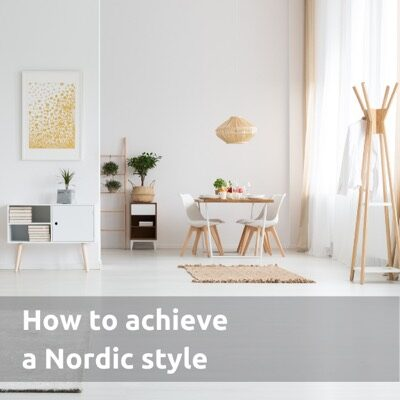How to achieve a Nordic style environment
