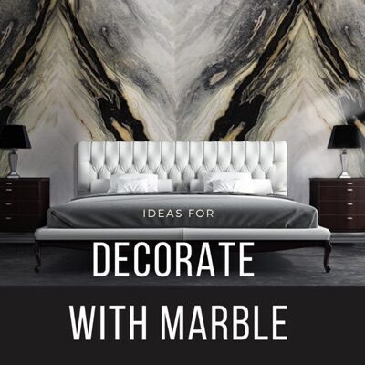 Marble decoration ideas
