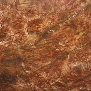Kristel red marble