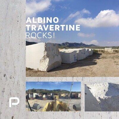 Albino Travertine