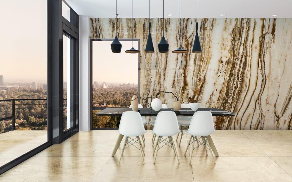Crema Marfil marble - Slabs & Tiles. Pulycort