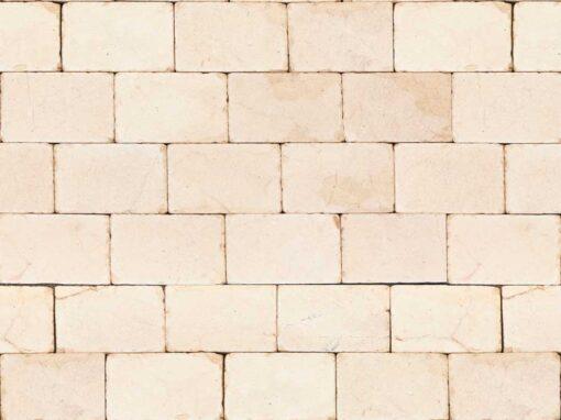 Mosaico marmol crema