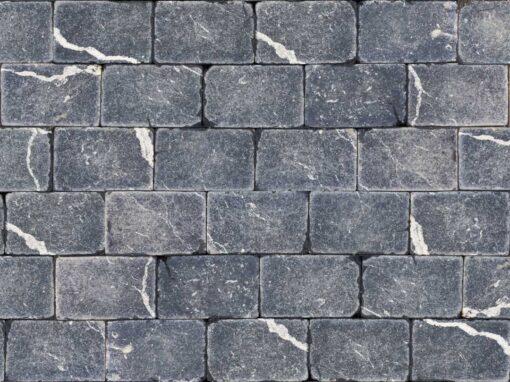 Mosaico marmol negro