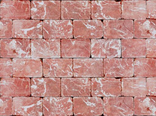 Mosaico marmol rojo