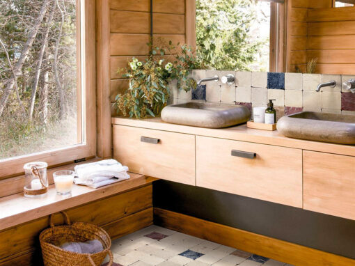 Mosaico para baños