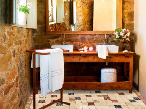 Mosaico para el baño