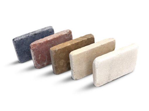Piezas mosaico de mármol