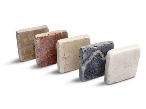 Piezas mosaico de piedra natural