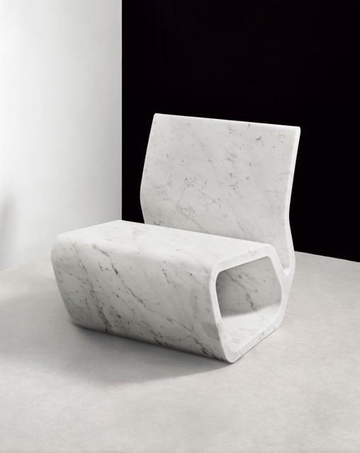 mobiliario de mármol