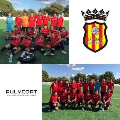 Pulycort renueva su colaboración con la Escuela de Fútbol de la Romana